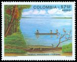 Cl: Scarlet Ibis (Eudocimus ruber)(Repeat for this country) (I do not have this stamp)  SG 1485 (1979)  [7/5]