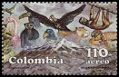 Cl: Magnificent Frigatebird (Fregata magnificens)(Repeat for this country)  SG 1829c (1989)