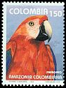 Cl: Red-and-green Macaw (Ara chloroptera) SG 1974 (1993) 20