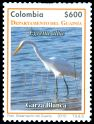 Cl: Great Egret (Ardea alba) <<Garza blanca>>  SG 2677 (2010)  [6/2]