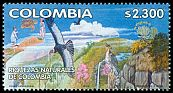 Cl: Andean Condor (Vultur gryphus)(Repeat for this country)  SG 2243b (2002)