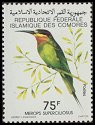 Cl: Madagascar Bee-eater (Merops superciliosus)(Repeat for this country)  SG 338 (1979) 175 [3/12]