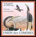 Cl: African Darter (Anhinga rufa)(Repeat for this country)  new (2009)  [6/59]