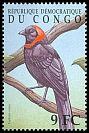 Cl: Red-collared Widowbird (Euplectes ardens) SG 1617a2 (2000)