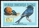 Cl: Fork-tailed Drongo (Dicrurus adsimilis) <<Drongo>> (I do not have this stamp)  new (2011)  [7/32]