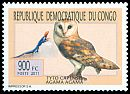 Cl: African Grass-Owl (Tyto capensis)(I do not have this stamp)  new (2011)  [7/32]
