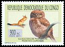 Cl: Pearl-spotted Owlet (Glaucidium perlatum)(I do not have this stamp)  new (2011)  [7/32]