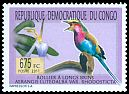 Cl: Lilac-breasted Roller (Coracias caudata) <<Rollier a longs brins>> (I do not have this stamp)  new (2011)  [7/32]