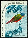 Cl: Painted Bunting (Passerina ciris) SG 1290a (1965) 160 [3/13]