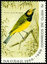 Cl: Hooded Warbler (Wilsonia citrina) SG 1291d (1965) 200 [3/13]
