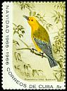 Cl: Prothonotary Warbler (Protonotaria citrea) SG 1291c (1965) 200 [3/13]