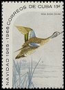 Cl: Blue-winged Teal (Anas discors) SG 1292a (1965) 375 [3/13]