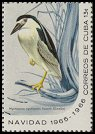 Cl: Black-crowned Night-Heron (Nycticorax nycticorax) SG 1292d (1965) 375 [3/13]