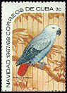 Cl: Grey Parrot (Psittacus erithacus)(Out of range)  SG 1560a (1967) 125