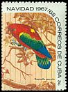 Cl: Chattering Lory (Lorius garrulus)(Out of range)  SG 1560b (1967) 125