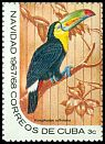 Cl: Keel-billed Toucan (Ramphastos sulfuratus)(Out of range)  SG 1560c (1967) 125