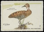 Cl: West Indian Whistling-Duck (Dendrocygna arborea) <<Yaguaza>>  SG 1796 (1970) 100 [3/23]