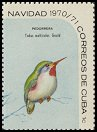 Cl: Cuban Tody (Todus multicolor) <<Pedorrera>>  SG 1813b (1970) 20 [3/7]