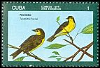 Cl: Oriente Warbler (Teretistris fornsi) <<Pechero>> (Endemic or near-endemic)  SG 2301 (1976) 35