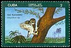 Cl: Cuban Pygmy-Owl (Glaucidium siju) <<Siju Platanero>> (Endemic or near-endemic)  SG 2302 (1976) 35
