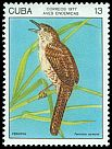 Cl: Zapata Wren (Ferminia cerverai) <<Fermina>> (Endemic or near-endemic)  SG 2356 (1977) 150