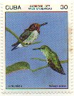 Cl: Bee Hummingbird (Mellisuga helenae)(Endemic or near-endemic)  SG 2357 (1977) 300