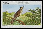 Cl: Cuban Solitaire (Myadestes elisabeth) <<Ruisenor>> (Endemic or near-endemic)  SG 2437 (1978)  [3/23]