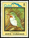 Cl: Cuban Tody (Todus multicolor)(Endemic or near-endemic)  SG 2952 (1983) 60