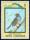 Cl: Red-legged Thrush (Turdus plumbeus)(Repeat for this country)  SG 2957 (1983) 60