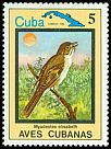 Cl: Cuban Solitaire (Myadestes elisabeth)(Endemic or near-endemic)  SG 2962 (1983) 60