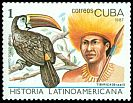 Cl: Red-billed Toucan (Ramphastos tucanus)(Out of range)  SG 3277 (1987) 20
