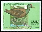 Cl: Northern Jacana (Jacana spinosa)(Repeat for this country)  SG 3828 (1993) 10