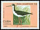 Cl: Black-necked Stilt (Himantopus mexicanus) SG 3830 (1993) 20
