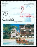 Cl: Caribbean Flamingo (Phoenicopterus ruber) <<Flamenco>> (Repeat for this country)  SG 4031 (1995) 95