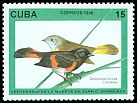 Cl: American Redstart (Setophaga ruticilla) <<Candelita>> (Repeat for this country)  SG 4064 (1996) 20