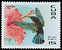 Cl: Purple-throated Carib (Eulampis jugularis)(Repeat for this country)  SG 4080 (1996)  [4/22]