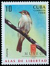 Cl: Cuban Solitaire (Myadestes elisabeth)(Endemic or near-endemic)  SG 5214 (2008)  [4/55]