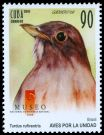Cl: Rufous-bellied Thrush (Turdus rufiventris)(Out of range)  SG 5549 (2010)  [6/44]