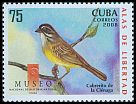 Cl: Zapata Sparrow (Torreornis inexpectata)(Endemic or near-endemic)  SG 5218 (2008)  [4/55]