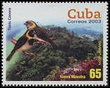 Cl: Cuban Grassquit (Tiaris canora)(Endemic or near-endemic)  SG 4690 (2003)  [2/25]