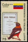 Cl: Venezuelan Troupial (Icterus icterus) <<Trupial com&uacute;n>> (Out of range)  SG 5540 (2010)  [6/11]