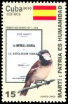 Cl: House Sparrow (Passer domesticus) <<Gorrion com&uacute;n>> (Introduced)  SG 5536 (2010)  [6/11]
