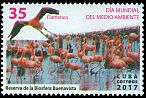 Cl: Caribbean Flamingo (Phoenicopterus ruber)(Repeat for this country)  new (2017)  [11/34]