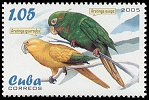 Cl: Golden Parakeet (Guarouba guarouba)(Out of range)  SG 4822 (2005)  [3/59]