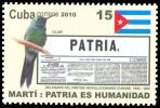 Cl: Cuban Emerald (Chlorostilbon ricordii) <<Colibri>> (Endemic or near-endemic)  SG 5534 (2010)  [6/11]