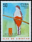 Cl: Cuban Trogon (Priotelus temnurus)(Endemic or near-endemic)  SG 5216 (2008)  [4/55]