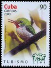 Cl: Cuban Tody (Todus multicolor) <<Cartacuba>> (Endemic or near-endemic)  SG 5432 (2009)  [6/28]