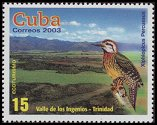 Cl: Cuban Woodpecker (Xiphidiopicus percussus)(Endemic or near-endemic)  SG 4689 (2003)  [2/25]