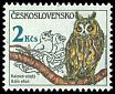 Cl: Northern Long-eared Owl (Asio otus) SG 2845 (1986) 90