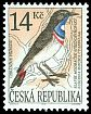 Cl: Bluethroat (Luscinia svecica) <<Slavik modracek stredoevropsky>>  SG 57 (1995) 100